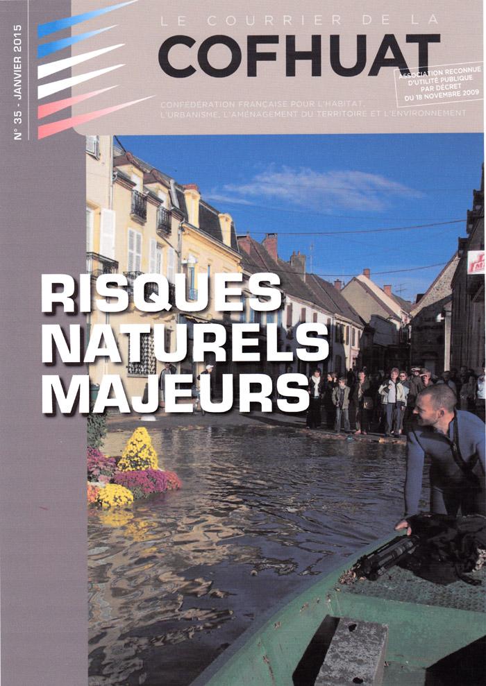 Couverture d'ouvrage: N°36 - Janvier 2015 - Risques naturels majeurs