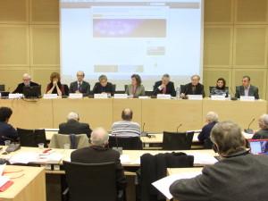 Réunion a Conseil de l'Europe